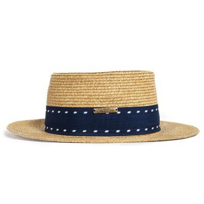 Cubano Canotier Hat